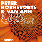 HORREVORTS, Peter/VAN ANH - It Keeps You Movin' (includes Wehbba remix) (Front Cover)