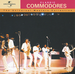 COMMODORES - Universal Masters Collection (Front Cover)
