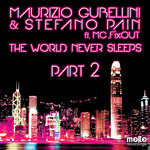 GUBELLINI, Maurizio & STEFANO PAIN feat MC FIXOUT - The World Never Sleeps (Front Cover)