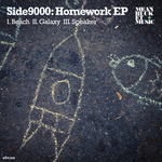 SIDE9000 - Homework EP (Front Cover)