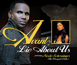 AVANT feat NICOLE SCHERZINGER - Lie About Us (Front Cover)