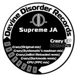 SUPREME JA - Crazy (Front Cover)