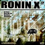 RONIN X - Ronin X EP (Front Cover)