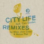 DJ T feat CARI GOLDEN - City Life (Front Cover)