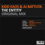 Kidd Kaos/Aj Battuta - The Entity (Front Cover)