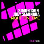 GAIN, Simon/JOEY SEMINARA - Right On Time (Front Cover)