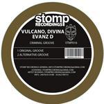 VULCANO, Tania/JOSE DE DIVINA/EVANZ D - Criminal Groove (Front Cover)