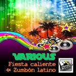 VARIOUS - Fiesta Caliente Zumbon Latino (Front Cover)