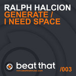 HALCION, Ralph - I Need Space (Front Cover)
