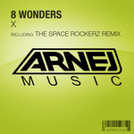8 WONDERS - X (Front Cover)