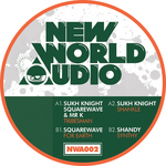 SQUAREWAVE/SUKH KNIGHT/SHANDY - Tribesman EP (Front Cover)