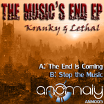 KRANKY & LETHAL - The Music's End EP (Front Cover)