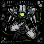 CENTASPIKE - Robot Sentries (Front Cover)