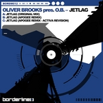 BROOKS, Oliver presents OB - Jetlag (Front Cover)