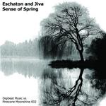 ESCHATON & JIVA - Sense Of Spring (Front Cover)