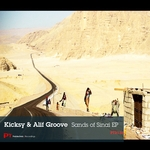 KICKSY & ALIF GROOVE - Sands Of Sinai (Front Cover)