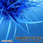 SUBSISTENCE - Psychedelic Essence (Front Cover)