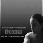 D VAN ROXX vs TRACELESS - Desire (Front Cover)