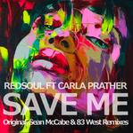 REDSOUL feat CARLA PRATHER - Save Me (Front Cover)