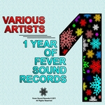 VARIOUS - One Year Of Fever Sound Records (Front Cover)