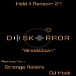 DISK ERROR - Breakdown (Front Cover)