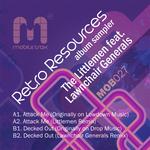 LITTLEMEN, The - Retro Resources Album Sampler (Front Cover)