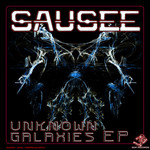 SAUSEE - Unknown Galaxies EP (Front Cover)