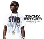 TINCHY STRYDER feat AMELLE - Never Leave You (Front Cover)