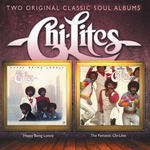 CHI-THE LITES - Happy Being Lonely + The Fantastic Chi-Lites (Front Cover)