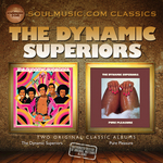 THE DYNAMIC SUPERIORS - The Dynamic Superiors + Pure Pleasure (2 Albums On 1) (Front Cover)