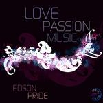 PRIDE, Edson - Love, Passion, Music (Front Cover)