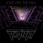 PHONAT - Love Hits The Fan (Front Cover)