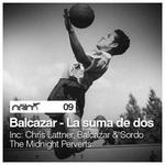 BALCAZAR - La Suma De Dos EP (Back Cover)