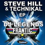 CRW/STU ALLAN - Steve Hill & Technikal EP (Front Cover)