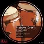KASTILLO, Karlos - Massive Drums (Front Cover)