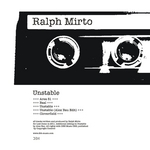 MIRTO, Ralph - Unstable (Front Cover)