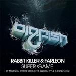 RABBIT KILLER & FARLEON - Super Game (Front Cover)