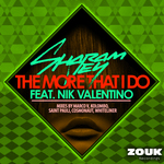 SHARAM JEY feat NIK VALENTINO - The More That I Do (Front Cover)