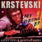 KRSTEVSKI - My Drumz EP (Front Cover)