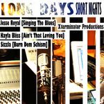 KALONJI, Sizzla & JESSE ROYAL & KAYLA BLISS - Xterminator Production's Long Days Short Nights (Front Cover)