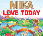 MIKA - Love Today (AOL Winter Sampler) (Front Cover)
