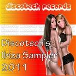 VARIOUS - Discotech's Ibiza Sampler 2011 (Front Cover)