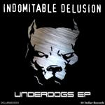 INDOMITABLE DELUSION - Underdogs EP (Front Cover)