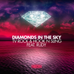 TV ROCK & HOOK N SLING feat RUDY - Diamonds In The Sky (Front Cover)