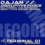DAJAN - Disruptive Force (Front Cover)