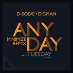 D SOLVE & DIGMAN - Anyday Part 2 EP (Front Cover)