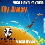 FLAKO, Niko feat ZAMO - Fly Away (Front Cover)