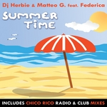DJ HERBIE/MATTEO G feat FEDERICA - Summertime (Front Cover)