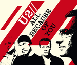 U2 - All Because Of You (Live From Chicago) (Front Cover)