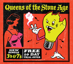 QUEENS OF THE STONE AGE - 3's & 7's (Front Cover)